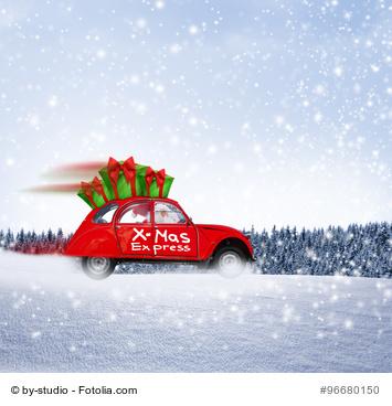 Projektwerkstatt Weihnachstwünsche roter Flitzer